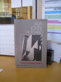 Reading Ada Louise Huxtable - Photo 1 of 1 -