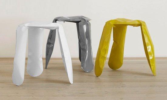 Oskar Zieta's Plopp stool inspired Miska Miller-Lovegrove to curate the Young Creative Poland show. Future Classics, Circa 2050? - Photo 3 of 12
