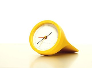 An alarm clock, designed by Michael Sodeau and Japanese company Suikosha.