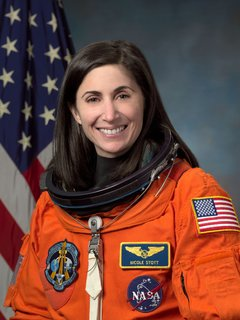 Space Living: Astro Home - Photo 7 of 32 - Astronaut Nicole Stott, mission specialist and flight engineer. Image courtesy of NASA.