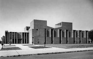 Sunday Styles - Photo 1 of 11 - First Unitarian Church by Louis I. Khan in Rochester, New York. Image courtesy the Louis I. Kahn Collection, University of Pennsylvania Historical and Museum Commission.