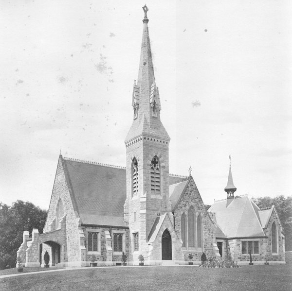 Church of the Unity, by H.H. Richardson, 1869. Springfield, Massachusetts.