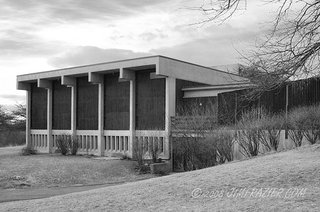 Sunday Styles - Photo 2 of 11 - The Unitarian Universalist Church, designed by Pietro Belluschi, in Rockford, Illinois. Image courtesy Jim Frazier.