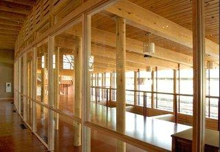 Sunday Styles - Photo 10 of 11 - The interior of the Unitarian Meeting House, designed by Frank Lloyd Wright, in Madison, Wisconsin. Image © The Kubala Washatko Architects, Inc.