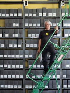 Rick Prelinger Evaluates Modern Media Storage - Photo 1 of 1 -