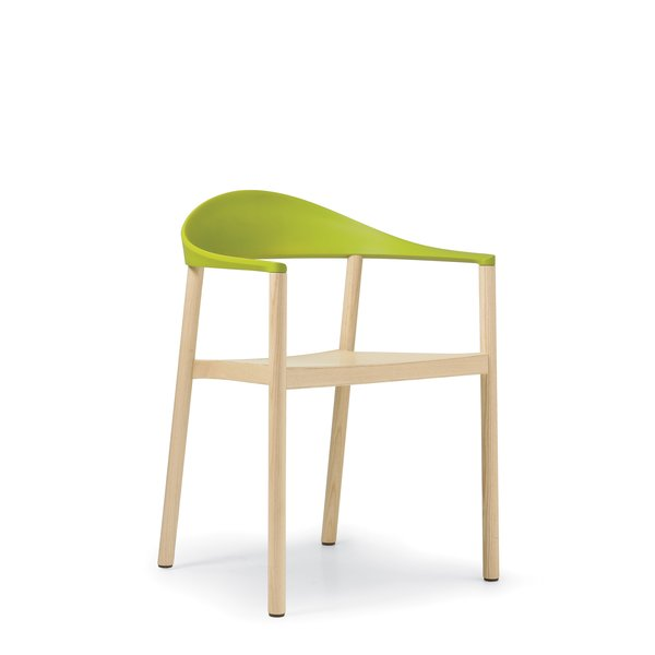 The stackable Monza chair, designed by Konstantin Grcic for Plank.