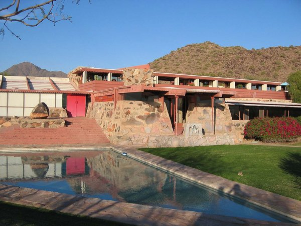 Modern Master: Frank Lloyd Wright by Matthew Keeshin from Architect Barbara Bestor