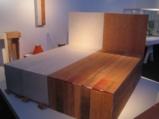 Design Miami: Recap - Photo 2 of 12 - This bed is from designer Peter Marigold's Palindrome Series.