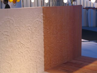 Design Miami: Recap - Photo 3 of 12 - The headboard of the bed by Peter Marigold shows his flowery visual signature.