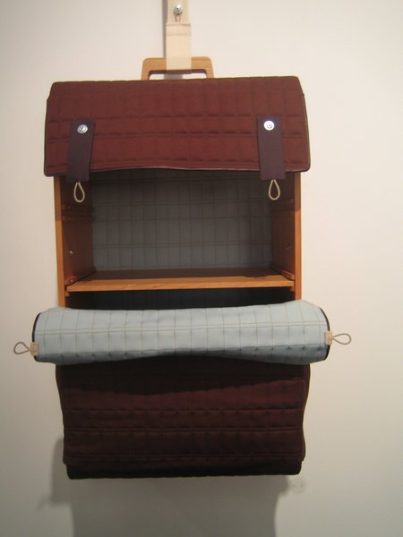Imagined as tiny cabinets, Lotty Lindeman's Tassenkast luggage was portable, charming and all hand-made.