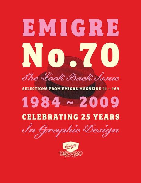 Emigre No. 70, cover