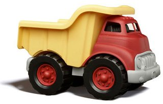 Friday Finds 12.18.2009 - Photo 2 of 6 - Dump Truck by Green Toys, $20.