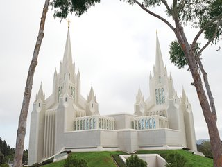 San Diego, CA - Photo 3 of 14 - San Diego's main Mormon temple is an unusual building, but architect Aaron Anderson will take unusual over bland any day.