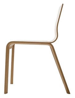 Tom Dixon - Photo 5 of 8 - The stackable Bambu chair, designed by Henrik Tjaerby (2006), is part of Artek's Bambu series.