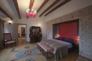 La Bodega Winery in Palamos, Spain - Photo 9 of 9 - La Bodega has six guest bedrooms furnished with pieces from the owner's personal antique collection.