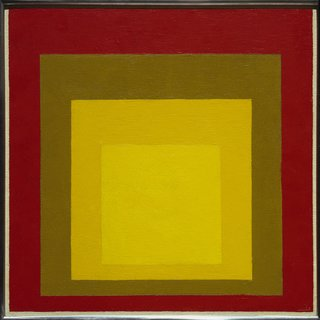 Events this Weekend: 4.8-4.11 - Photo 2 of 2 - Study for 'Homage to the Square: Last Century'. Josef Albers, 1956