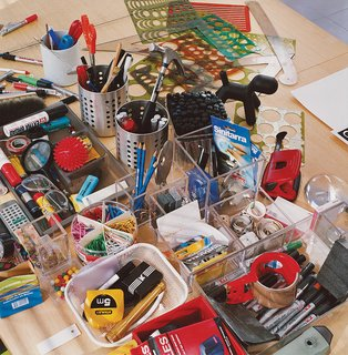 Furniture Designer Focus: Eero Aarnio - Photo 4 of 13 - Aarnio's tools of the trade.