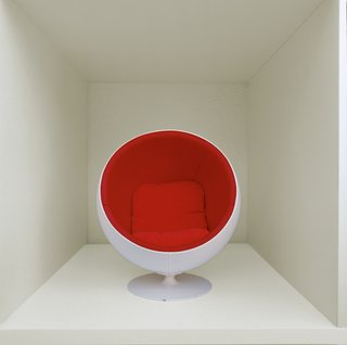 A miniature Ball Chair.