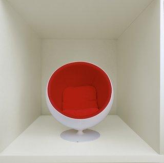 Furniture Designer Focus: Eero Aarnio - Photo 6 of 13 - A miniature Ball Chair.