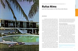 Miami Modern Metropolis - Photo 10 of 13 - Rufus Nims was a residential architect in Miami who experimented with concrete forms.
