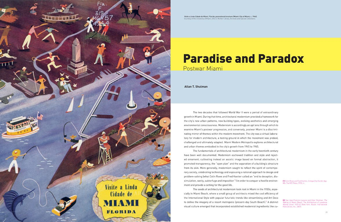 """""""Paradise and Paradox"""" is the overriding theme of Miami Modern Metropolis, one examined from dozens of design and urbanistic lenses.  Photo 12 of 13 in Miami Modern Metropolis"""