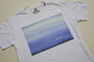 SFMOMA x Gap: Artists' T-Shirts - Photo 3 of 9 - This one shows one of Ed Ruscha's playful, word-based works.