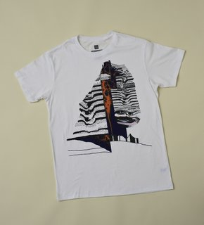 SFMOMA x Gap: Artists' T-Shirts - Photo 6 of 9 - Leslie Shows is another of the young artists included in the series of t-shirts, this one an undulating, oozing image that seems to owe a debt to San Francisco's strong psychedelic tradition.
