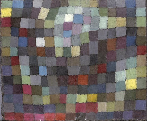 Maibild by Paul Klee. Image courtesy the Museum of Modern Art.