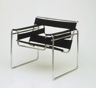 Final Weekend: Bauhaus at MoMA - Photo 16 of 16 - Wassily Chair by Marcel Breuer. Image courtesy the Museum of Modern Art.