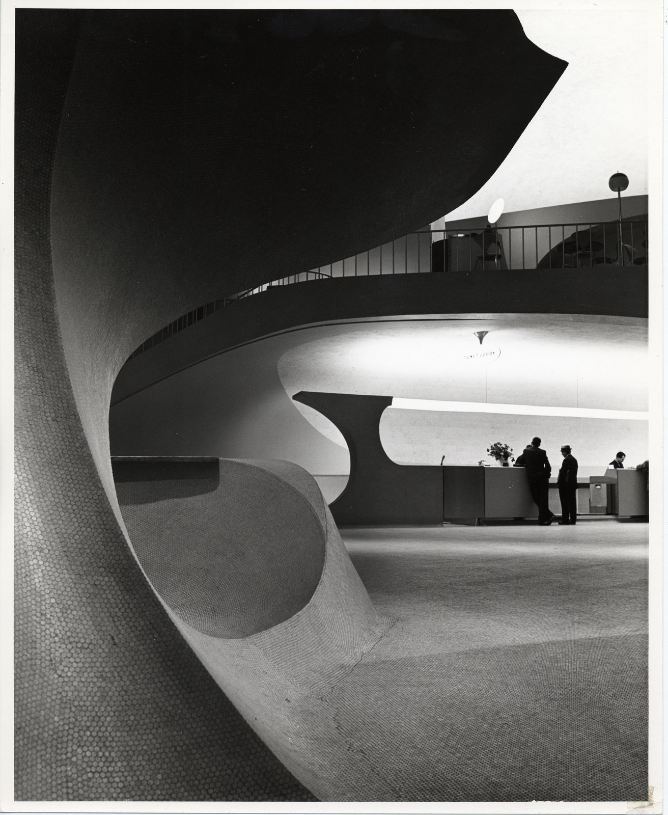 Photo of the TWA Terminal, New York International (now John F. Kennedy International) Airport (1962) by Eero Saarinen, on display at the Museum of the City of New York through January 31, 2010. Image by Balthazar Korab and courtesy of the Finnish Cultural Institute in New York.  Photo 11 of 15 in Events this Weekend: 1.28-1.31
