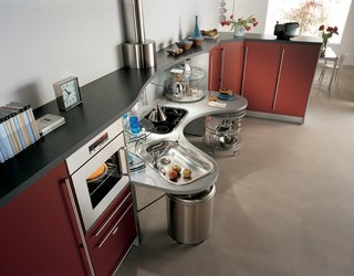 Though the Skyline kitchen was designed specifically for use by individuals in wheelchairs, the idea was to create a kitchen that can be used by everyone, highlighting the goal of universal design.