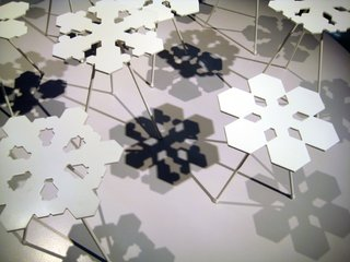 From Stockholm: Snowflakes Tables - Photo 2 of 3 -
