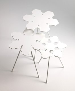 From Stockholm: Snowflakes Tables - Photo 1 of 3 -