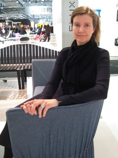 Stockholm: New from Gärsnäs - Photo 4 of 6 - Designer Anna von Schewen, seated on her Dress sofa.