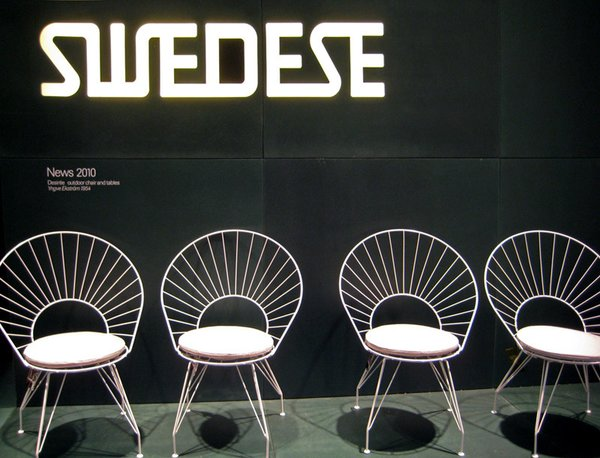 The chairs are in production and can be found at the stores listed on the Swedese website in the Western and Midwestern US.