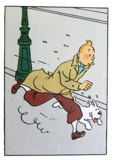 "The Adventures of Tintin created by Hergé. ""These were some of our favorite books when we were kids, and we still enjoy reading about Tintin's adventures."" Available at Brook Farm General Store."