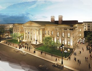 Greening San Francisco's Old Mint - Photo 2 of 7 - This rendering shows how Alfred Mullet's building--he also did the executive building next to the White House--will look when the renovation is complete. At present San Francisco is one of only two major cities without a museum dedicated to its history. Staggeringly, history-obsessed Boston is the other.