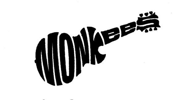 An icon itself, the Monkees logo is from 1966.