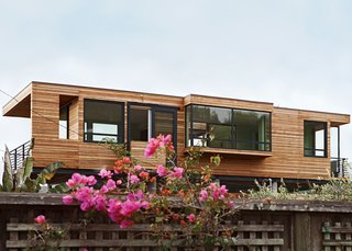 A Modern Coastal Home in Stinson Beach - Photo 3 of 10 - The eastern side offers an equally mesmerizing view of Mount Tamalpais, which is lush with foliage throughout the year.
