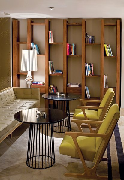 A series of lucrative interior jobs from a pair of hotels (Witt Istanbul Suites and <br><br>the Marmara Sisli) keeps pace with further explorations in furniture design, like the King lamp.