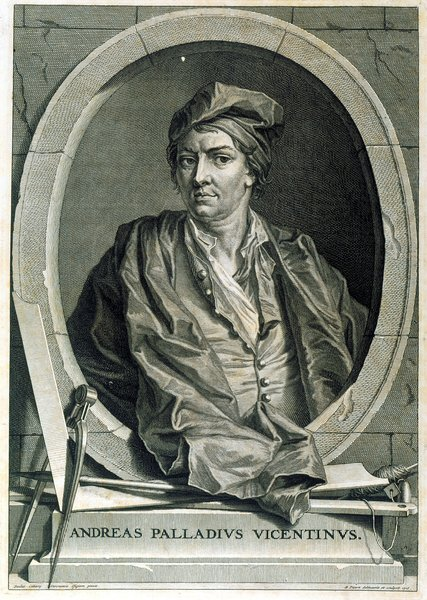 Conjectural portrait of Andrea Palladio , 1715. Image courtesy of RIBA Library Drawings and Archives Collections