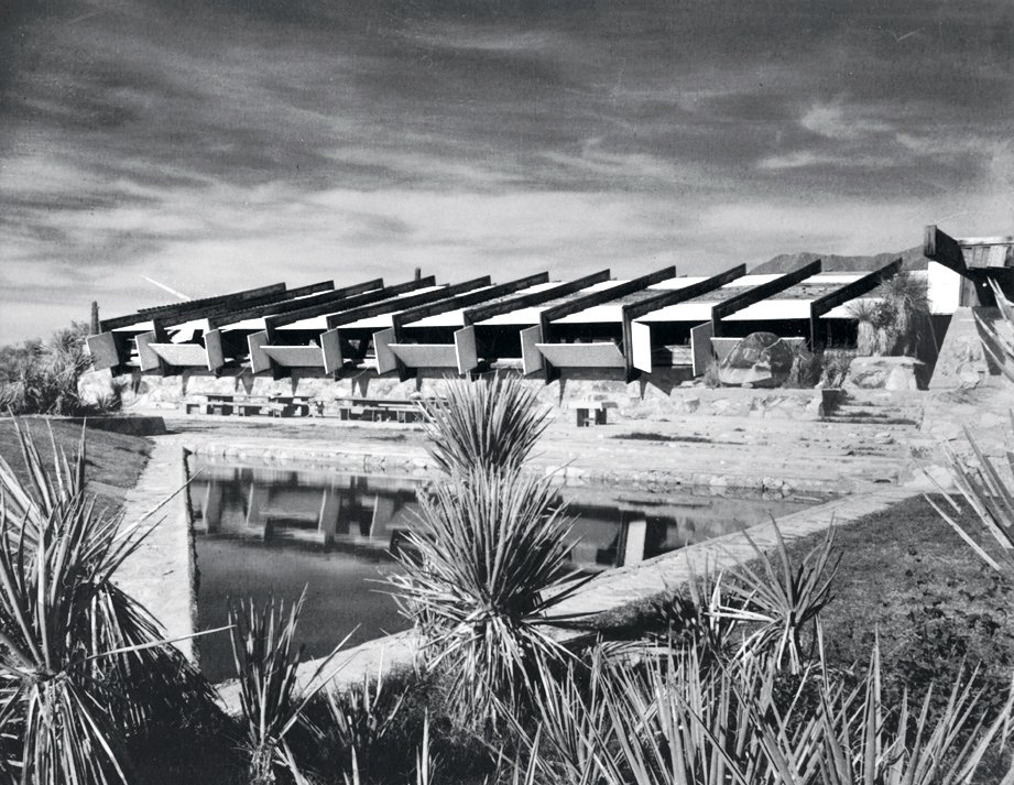 Taliesin West, 1939. 10 Frank Lloyd Wright Buildings We Love - Photo 6 of 10