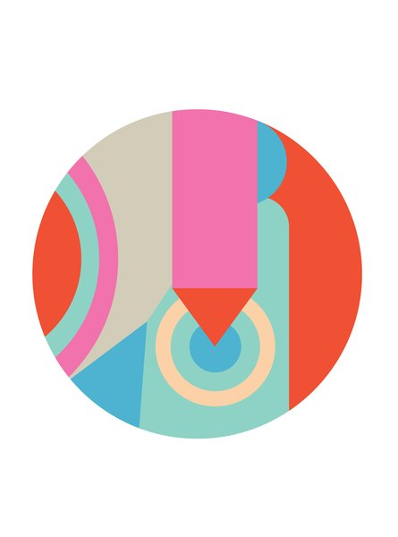 Circle by Mike Perry.