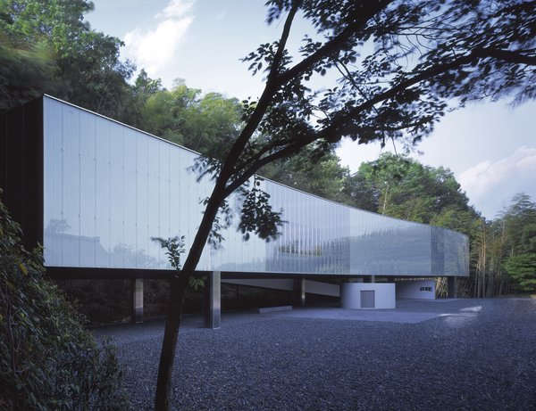 The O-Museum in Nagano, Japan is some of SANAA's earlier work. This building is from 1999. Nishizawa, at 44, is the youngest winner of the Pritzker Prize.