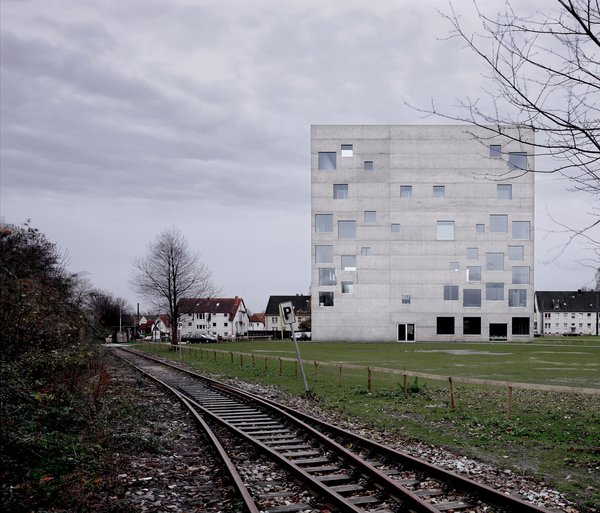 Concrete and glass carry the day in SANAA's 2006 Zollverein School of Management and Design in Essen, Germany.