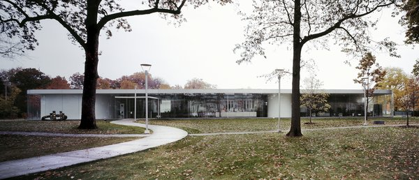 Though Columbus, Ohio, might still lay claim to the best architecture in one of our flattest states, Toledo puts in a proper bid with SANAA's Glass Pavilion at the Toledo Museum of Art.