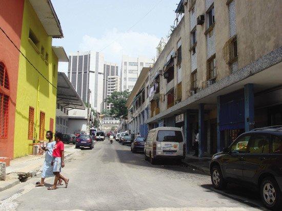 Abidjan, Côte D'Ivoire. Photo by David Adjaye.
