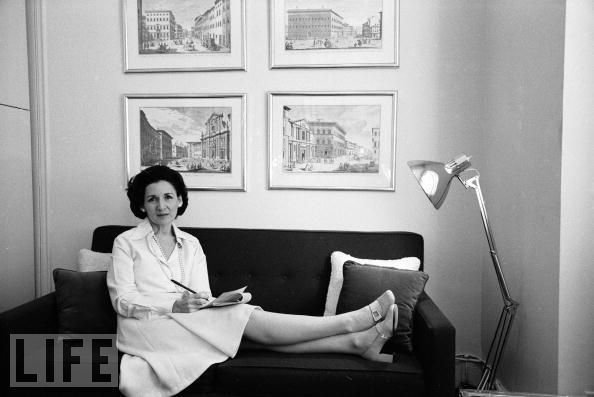 This photo of a young Ada Louise Huxtable is from the Life Magazine Archive.