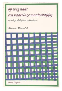 Dutch Master - Photo 1 of 21 - An early Van Loghum Slaterus cover for Alexander Mitscherlich's Society Without the Father.
