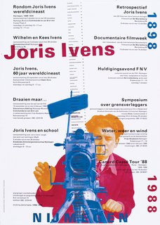 Dutch Master - Photo 3 of 21 - A poster for a film series celebrating Dutch documentary filmmaker Joris Ivens.